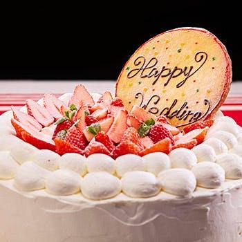 【記念日】乾杯スパークリング&ホールケーキ付!前菜2種やメインディッシュが選べるプリフィクスディナ—