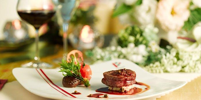 蓼科牛のサーロインのディナーコース
