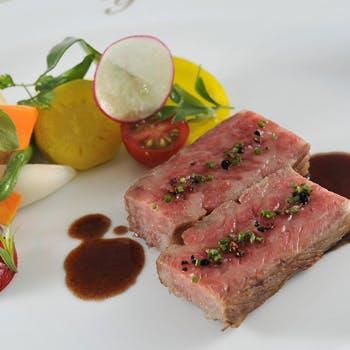 【一休限定】スペシャリテ「和牛のステーキ」をお楽しみいただく特別コース!スパークリングワイン付き