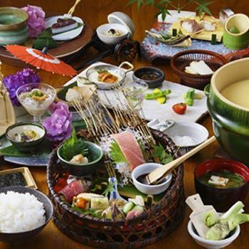 【一休限定】お土産付!米ざんまいコース9050円/米料亭で出来たてのお米と、自慢の逸品の数々を堪能!