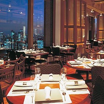 【乾杯スパークリング,食後の飲み物付】東京の夜景と共にシェフ自慢の創作タイ料理コースを