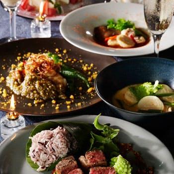 【クリスマスディナー2017】米沢牛や鯛などWメインの豪華タイ料理フルコース全8品