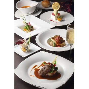 魚介料理&肉料理のWメインを愉しめるフルコースディナー 10,500円→8,500円!