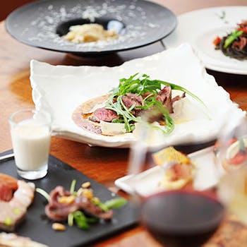 【一休限定】食前酒&デザート盛合せ付!パスタ2種、選べるメインなど大切な日にも最適なスペシャルコース