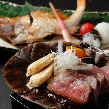<恵比寿店限定>上越やすだ特選コース<全11品>17,010円 新潟和牛とのど黒、鮑をお愉しみ下さい
