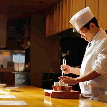 【カウンター限定】<恵比寿限定>料理長おかませコース<全9品>10,206円 旬の食材で料理長が腕をふるう