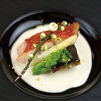 【ランチコース】オードブル、魚&肉料理、選べるデザートなど!和洋折衷スタイルの全6品をご堪能!