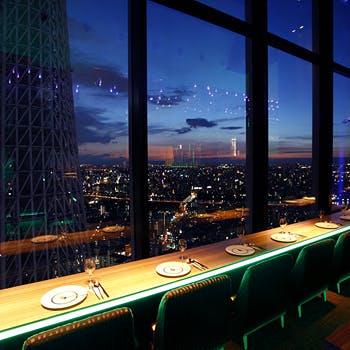 天空LOUNGE TOP of TREE/東京ソラマチ31Fの写真