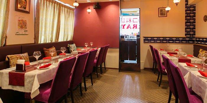 トルコレストラン サライ 渋谷店の店内