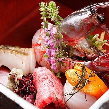 割烹・肉膳 光月の写真