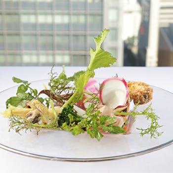 【丸ビルプレミアムレストラン】平日限定リストランテ・ヒロで堪能する前菜・パスタ・デザート全3品