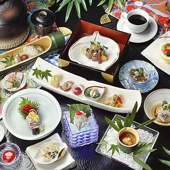 【一休限定】乾杯ドリンク付!デザートが選べる、季節のお料理全7品の贅沢ランチ 〜プレリュードコース〜