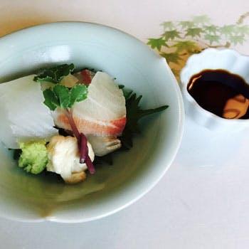 お抹茶&手練りわらびもち、お造り付!季節を味わう食材や京野菜が味わえる清水コース