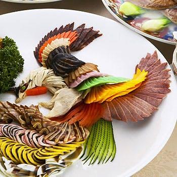 【懐石コース】ミニ満漢全席なみプレミアム食材を使用!黄村宝総料理長の技が堪能いただけます!
