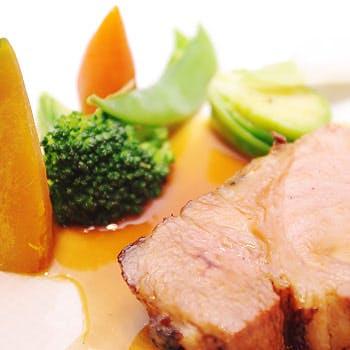 【平日限定】代官山の隠れ家レストランでランチをご堪能!魚&肉両方楽しめる全5品!