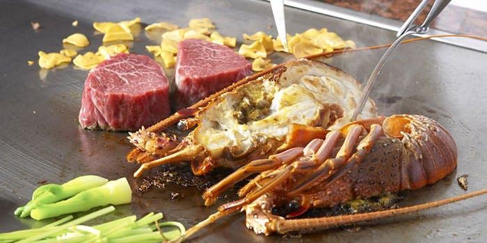 ANAクラウンプラザホテル「鉄板焼 堂島」の料理写真
