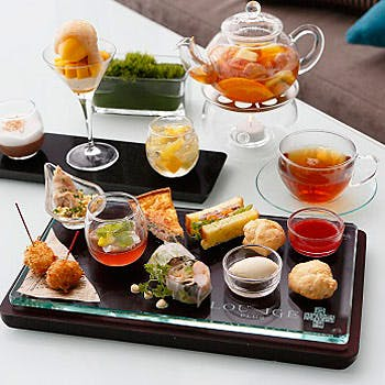 LOUNGE PLUS/大阪マリオット都ホテル19Fの写真