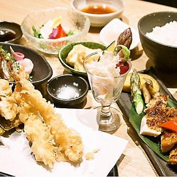 くずし割烹 天ぷら竹の庵 東銀座店の写真