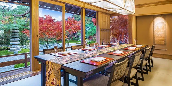 6位 イノベーティブな和会席を贅沢に!フレンチ×京料理「京 翠嵐」の写真2