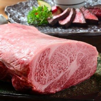 【一休限定】選べる1ドリンク付!宮崎牛特選部位ステーキ150gをメインに極上の厳選肉をご堪能!