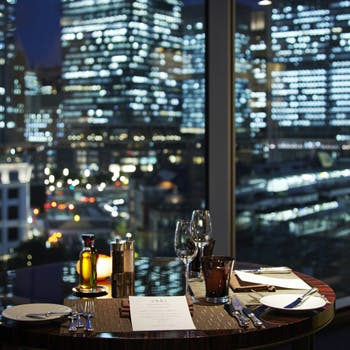 【一休限定】14,283円→11,178円!乾杯シャンパン付!都心の夜景を眺めながらご堪能いただく特別ディナー
