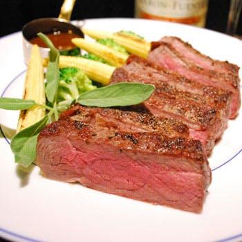【2時間飲み放題付】オードブルビュッフェやアンガス牛のステーキ、桜海老と春野菜のペペロンチーノ等全6品