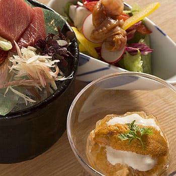 【一休限定×個室確約】厳選したウニの食べ比べ3種に極上の江戸前握りなど!築地の隠れ家で至福のディナー