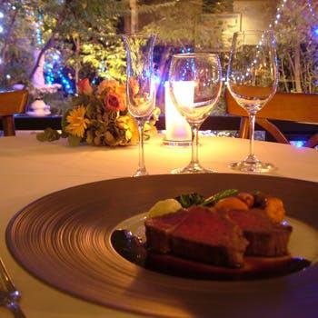 【一休限定】乾杯シャンパン付!前菜やメイン2皿、フロマージュなど全7品!ワゴンデザートはお好きなだけ!