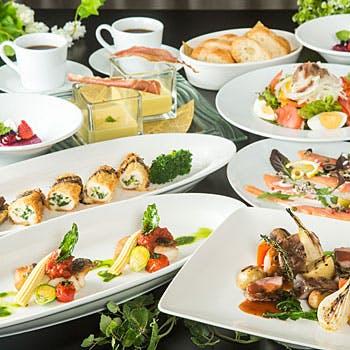 【個室確約×3時間飲み放題】前菜、Wメイン、パスタ、デザートなど 大皿シェアスタイルで!大満足の全12品