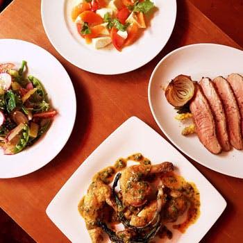 中目黒の大人の隠れ家で1人一皿の贅沢ディナー!前菜や魚、肉のどちらも楽しめるおまかせコース全5品!