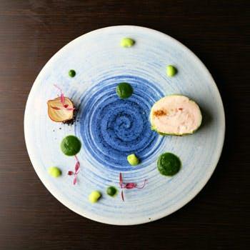 【記念日・お祝い】オマール海老を使用したお料理など厳選食材を使用したランチコース 1ドリンク&ケーキ付