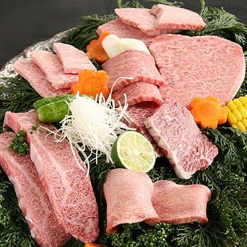 【タイムセール】11,300円→6,780円!韓国家庭料理&黒毛和牛と前沢牛の6種盛!〆が選べる韓国焼肉コース