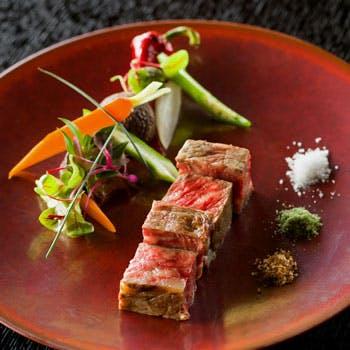 【古民家フレンチ】地産地消食材たっぷりの美食フレンチ!魚&肉料理含む全6品コース
