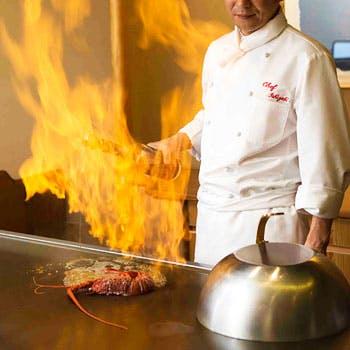 日本料理「さくら」鉄板焼きカウンター/ヒルトン東京お台場の写真