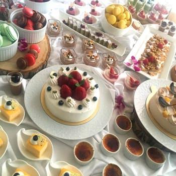 【特典付】ミキモトアメニティー付!軽食,アイスクリーム食べ放題!ライトミール&デザートブッフェ 土日祝