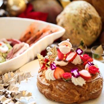 【12月】冬のファンタジー!デザート&クリスマスライトミール計30種以上 食べ放題!(週末)