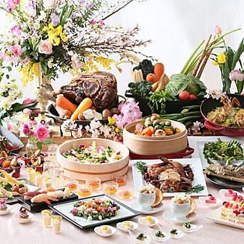 【4月5月】<第2弾>春の訪れと共に堪能しよう!「春の恵み・食彩フェア」ディナーブッフェ<平日>