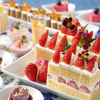 【キャンペーン】ランチ3部15時!季節のデザートやアイスクリーム等の軽食ブッフェ付(土日)