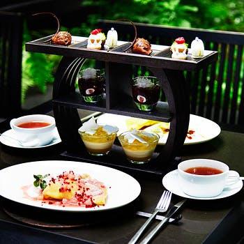 Foret Desserts 季節のスイーツ全6種と選べるクレープのスイーツセット