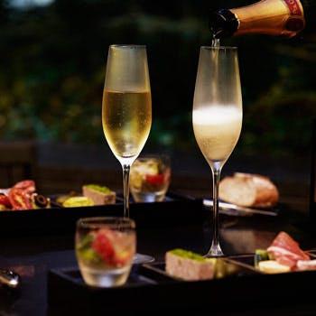 【3/1〜5/10】2時間フリーフロー 「スプリング コフレ アペリティフ」 森で楽しむワインとタパスの宝石箱