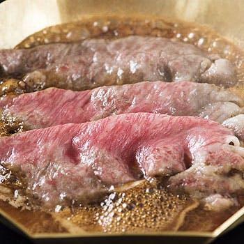 【53階からの東京の景色を一望】A5ランクの黒毛和牛ロースすき焼、お造り、デザートなど贅沢に楽しむ全5品
