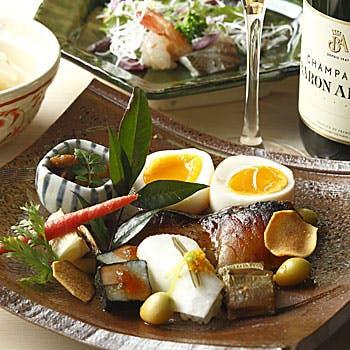京の魚 擔 KATSUGIの写真