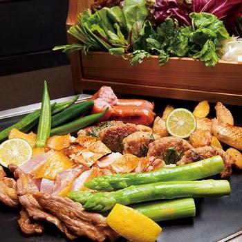 比内地鶏 鉄板焼き かしわ 二子玉川ライズ店の写真