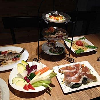 【全7皿3,500円】前菜5種、選べるパスタ&メイン&デザートなど四季の食材を楽しむプリフィクスディナー