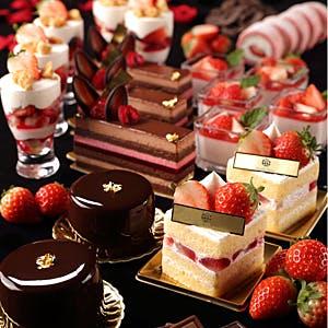 【3日間限定ストロベリーレッドブッフェ  ブラック&レッド】Strawberry Red Buffet Black&Red 1/25昼