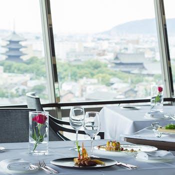 フレンチダイニング トップ オブ キョウト/リーガロイヤルホテル京都の写真