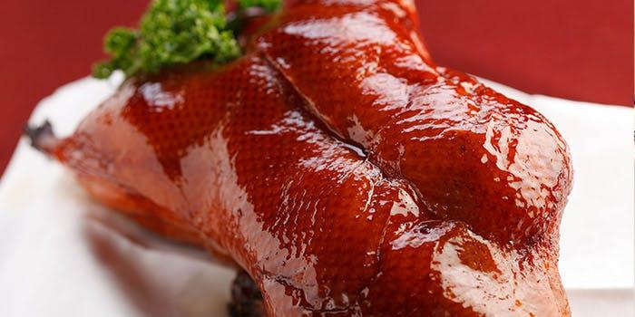 北京ダックの料理写真