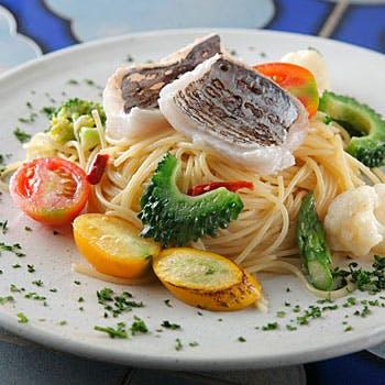 【お食事を愉しみたい方】メインは産地に拘った鮮魚のお魚料理!ARBOLの定番コースです!全6品4,800円