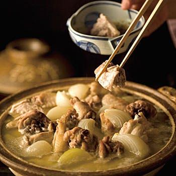 【接待・特別な日に】当店名物の鶏水たき、旨味たっぷりの雑炊など本物を堪能する贅沢会席を!全8品