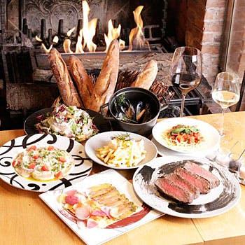 【一休限定】熟成豪州牛炭火焼きや,朝採れ三浦野菜,シェフのおまかせパスタなど,こだわり食材を愉しむ全8品